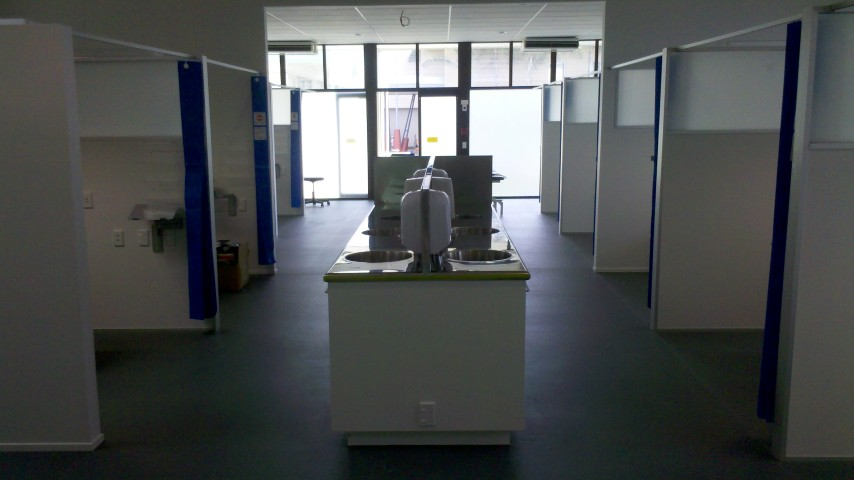 Aut podiatry clinic fitout registered master builders - University of auckland swimming pool ...